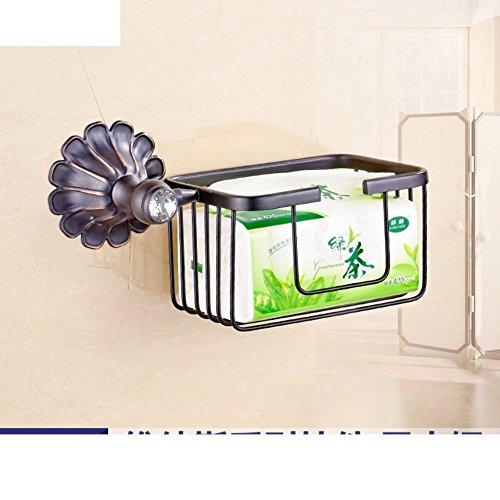 LISABOBO Papier Handtuch Halter mit einem Modele Antik/WC papier Regal/wc Papierhalter/WC-Papierhalter/Test Papier Korb - B
