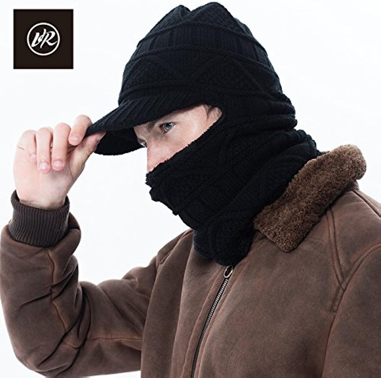 NMDNNJ Signora Berretti Inverno Caldo Cappello Spesso Maglia Cappello Caldo  Elastico Neve Berretto Parent bb19f3 19673b5667dc