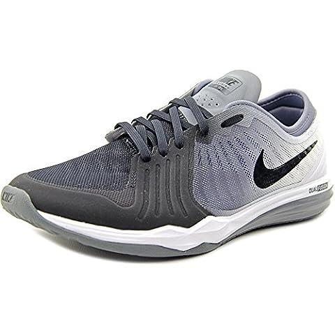 Nike W Dual Fusion Tr 4 Print, Sneakers femme - noir - Noir (Noir / Blanc-Cool Grey), 35 1/2 EU