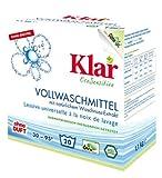 Klar Vollwaschmittel Pulver 1100 gr