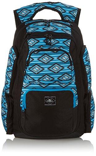 O 'Neill Mochila AC President Backpack, unisex, Rucksack AC President Backpack, Blue Aop, 20 x 33 x 50 cm, 33 Liter