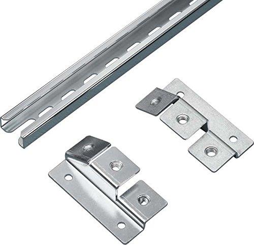 Rittal cm 5001.083Cable Management Panel-Rack Zubehör (Cable Management Panel, Metallic, Steel, TS 8, cm, TP, 1099mm, 450g) -