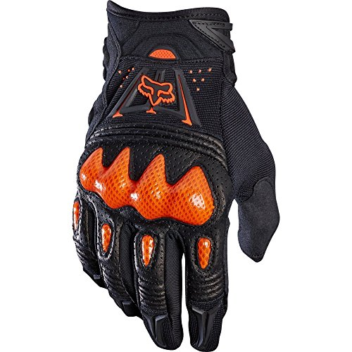 Fox Herren Handschuhe Bomber, Black/Orange, L, MTB15S-03009-016 (Fox Herren)