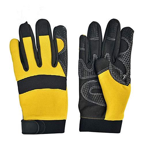 Guantes de trabajo Nome: guanti protettivi Materiale: il silicone Dimensioni: 23.4 * 10,8 centimetri quantità: 1 Le dimensioni di cui sopra sono solo di riferimento, tutte basate su dati reali Protect