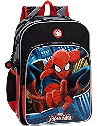 Marvel 24524A1 Spiderman Mochila Escolar, 15.6 Litros, Color Azul