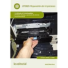 Reparación de impresoras. IFCT0309
