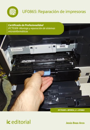 Reparación de impresoras. IFCT0309 por Jesús Beas Arco