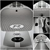 Aufblasbares iRocker-Paddleboard, 304 cm (15,2 cm dick), SUP-Paket – 2 JAHRE GARANTIE (Weiß) - 2