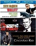 Bullitt / Cincinnati Kid / Getaway [Blu-ray] [US Import]