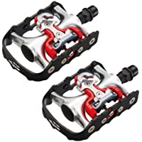 Wellgo 51619 - Juego de pedales de trekking con calas (aluminio)
