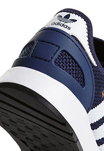 adidas AC8543 Sneaker Bambino Multicolore (Cblack/Ftwwht/Cblack)