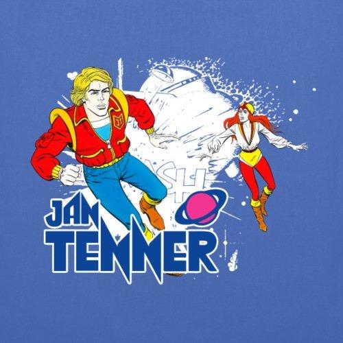 Spreadshirt Jan Tenner E Laura Adventure Bag In Tessuto Blu Scuro