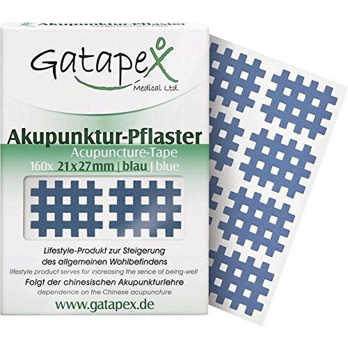 Gatapex 9190226 Gitter Akupunktur-Pflaster Größe S Blau 160St.