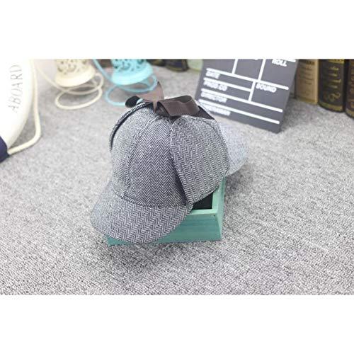 Yosrab Hut Tweed Cap Film Cosplay Kostüm Detektiv Unisex Flat Caps