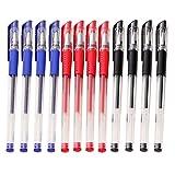 12x aloiness Gel Pen Kugelschreiber Kugelschreiber rot blau schwarz Tinte Büro Schule Stationery Pen