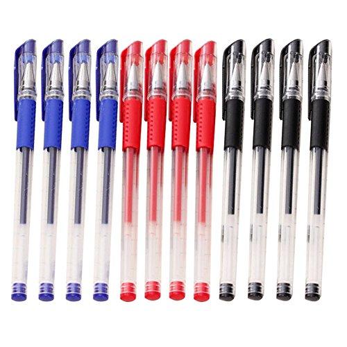 fablcrew Stift Gel-Student Unterschrift Füllfederhalter mit Tintenpatrone schwarz 0.5mm...