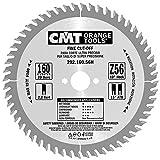 CMT Orange Tools Kreissägeblatt Feinschnitt HW 160 x 2,2/1,6 x 20 Z=56 15° ATB - 292.160.56H - für Querschnitte