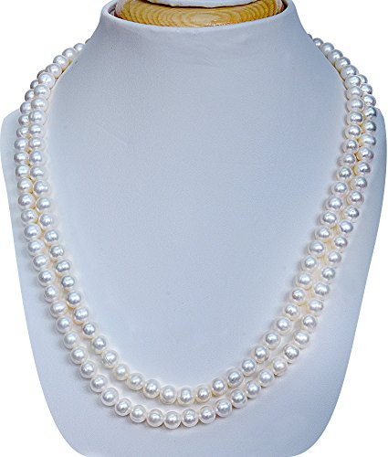 pearl-inn-7-8mm-aaa-19-20inches-51cm-freshwater-cultured-pearl-whitedouble-strings-necklace-and-matc