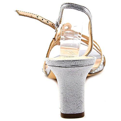 Nina Nineve Toile Sandales silver