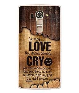 PrintVisa Designer Back Case Cover for LG G4 :: LG G4 Dual LTE :: LG G4 H818P H818N :: LG G4 H815 H815TR H815T H815P H812 H810 H811 LS991 VS986 US991 (Love Lovely Attitude Men Man Manly)