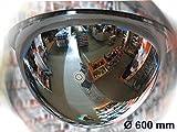 Kontrollspiegel - (Kugelspiegel aus Acrylglas) 360 Grad 600 mm - Ideal zur Überwachung von Hallen u. grossen Räumen