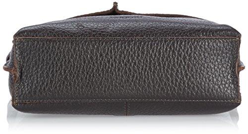Bugatti Bags Umhängetasche Milano Schwarz 49537901 braun