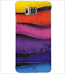 SAMSUNG GALAXY ALPHA PATTERN Designer Back Cover Case By PRINTSWAG
