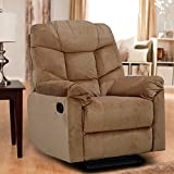 HomeTown Caesar Single Seater Recliner (Beige)