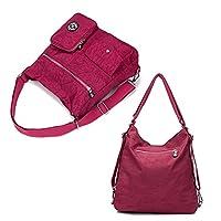 Outreo Mujer Bolsos de Moda Impermeable Mochilas Bolsas de Viaje Bolso Bandolera Sport Messenger Bag Bolsos Baratos Mano para Tablet Escolares Nylon