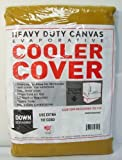 40'W x 40'D x 46'H Down Draft Heavy Duty Canvas Cover for Evaporative Swamp Cooler (40 x 40 x 31)