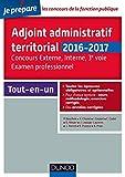Image de Adjoint administratif territorial - Concours et Examen professionel -