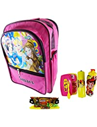 4 To 5 Yr Kids School Bag For Kids With Lunch Box ,Water Bottle & Pencil Box And Stationary Free Best School Pack