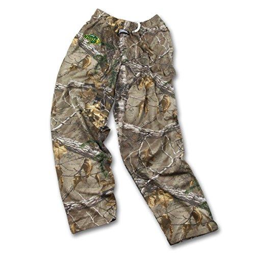 Zubaz Herren NCAA Realtree Xtra Camo Print Team Logo Casual Active Pants, Herren, Men's NCAA Realtree Xtra Camo Print Team Logo Casual Active Pants, Camouflage, Large -
