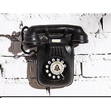 Vintage Antiguo Teléfono Europa/Decoración De La Pared De Casa Creativa Del/Colgante Accesorios/Decoración De La Pared-A