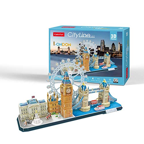 Puzzle 3D City Line London 107 -