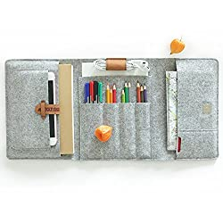 B6+ Stifteetui SkizzenIpad Mini Kindle 7 Zoll Ausflug multifunktionale Etui aus hochwertigem Filz LuckySign® (B6+)