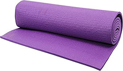 PlanetR 24 X 68 inch Exercise, Gym & Yoga Mat 4 mm Purple