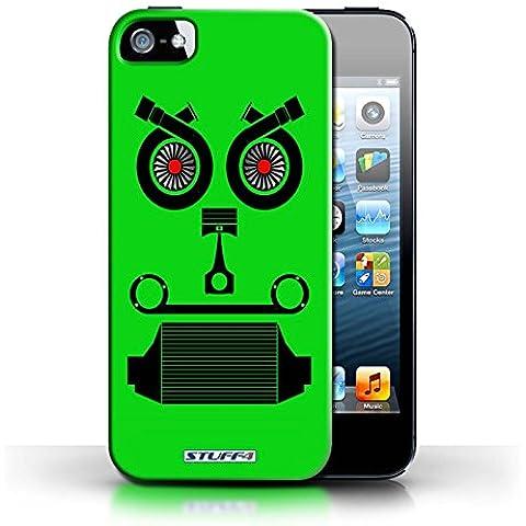 STUFF4phone Case/Cover/Skin/IP5S/coche parte caras colección Turbo/Green