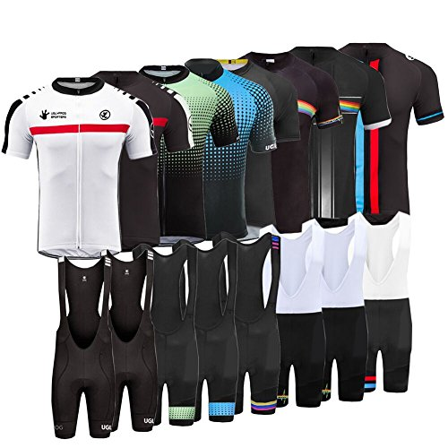 Uglyfrog Bike Wear De Manga Corto Maillot Ciclismo Hombre Bodies Short Bib Tights with Gel Pad Summer Style 02