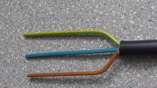 Preisvergleich Produktbild Erdkabel NYY-J 3x2, 5 qmm 25 meter Ring