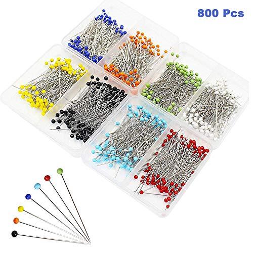 Alfileres Costura 800 Piezas - Alfiler Boda Multicolor