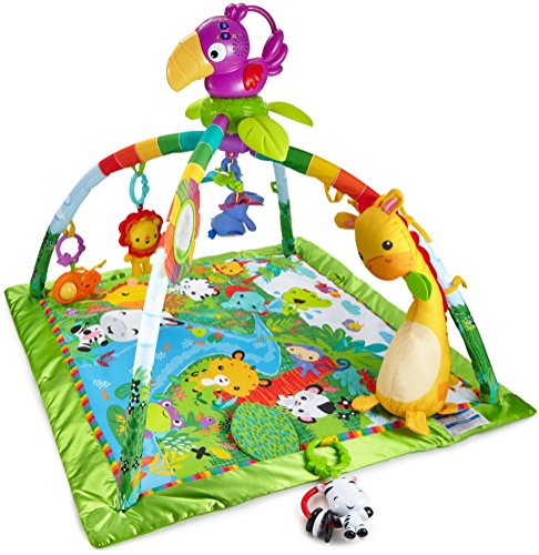 Fisher-Price - Gimnasio deluxe animalitos de la...