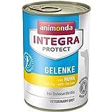 animonda Integra Protect Hunde Gelenke mit Huhn | Diät Hundefutter | Nassfutter bei Osteoarthrose (6 x 400 g)