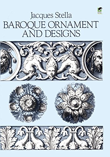 Baroque Ornament and Designs par Jacques Stella