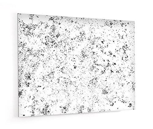 """Fond de hotte en panneau composite aluminium ou crédence de cuisine prête à poser avec adhésif double face """"Texture grunge"""" - L. 90 x H. 70 cm - Epaisseur 3 mm - [ Impression Murale® ]"""