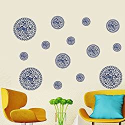 Happy Walls Coin Design Modern Wall Sticker/Decal (6930)