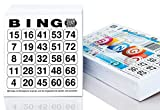 500 Bingo cards System 25 of 75