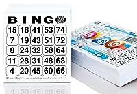 500 Bingokarten / Bingolose System 25 aus 75 (10,5 x 11 cm)