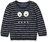 TOM TAILOR Kids Baby-Jungen Pullover Striped Sweater Blau (Real Navy Blue 6593), 62