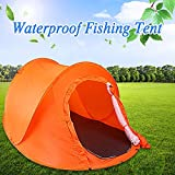 Outdoor Double 2 Persons Camping Tent Automatic Quick Open Waterproof Sunshade Canopy Beach